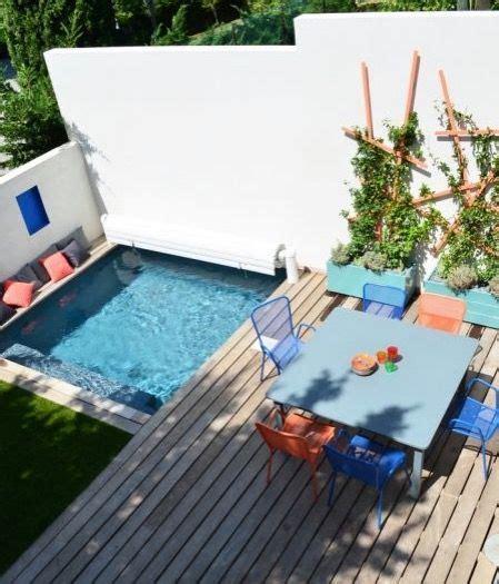 mini pool terrasse 25 best ideas about piscine on