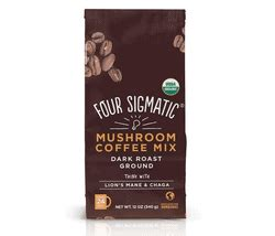 They have ground coffee that brews just like regular and it has me intrigued. Four Sigmatic Ground Mushroom Coffee Review - A Look At This Coffee