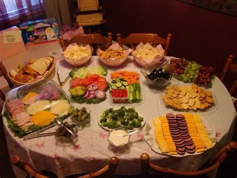 Baby Shower Menus 7 Best Baby Shower Food Easy Ideas Images On