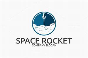 Space Rocket Logo ~ Logo Templates on Creative Market