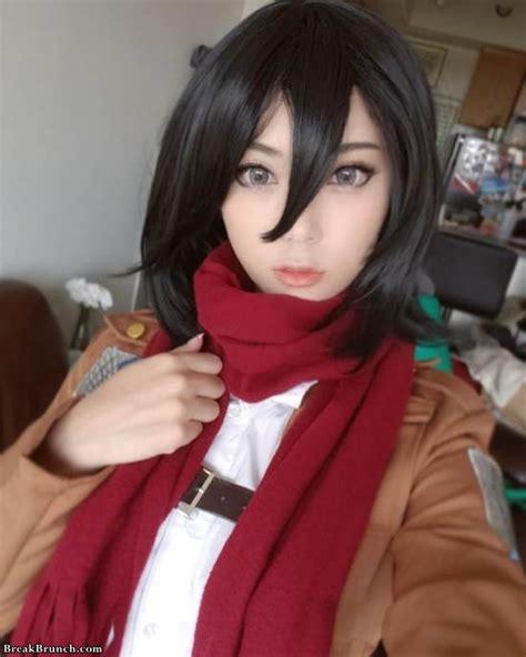 spicy hot attack  titan mikasa ackerman cosplay