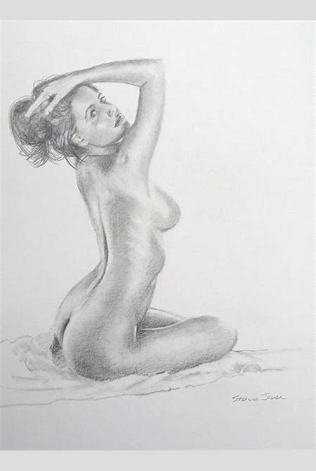 Pencil Nude 4 by Steve Jones