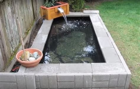 how to build a garden pond with waterfall feature