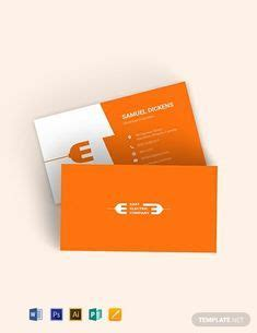 instantly  modern electrician business card