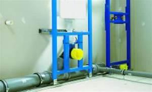 Kunststoff Wasserleitung Selbst Verlegen : eine sanit rwand als vorwandsystem installieren ~ Frokenaadalensverden.com Haus und Dekorationen