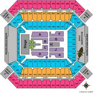 Outback Bowl Stadium Seating Chart Raymond James Stadium Tickets And Raymond James Stadium