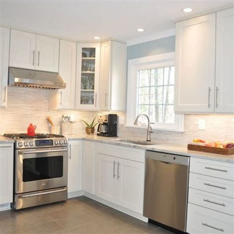 white kitchen cabinets with stainless steel appliances blue kitchen designs slate and remodels on 2213