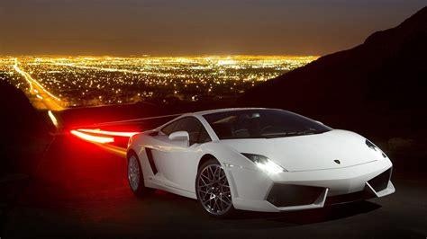 Free White Lamborghini Gallardo Car Hd Wallpapers Download