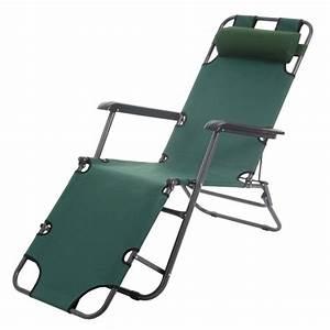 Bain De Soleil Pliable : transat bain de soleil chaise longue jardin pliable vert fonc mdj04104 d coshop26 ~ Teatrodelosmanantiales.com Idées de Décoration