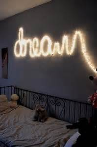 lights shaped into words for bedroom decor i lights