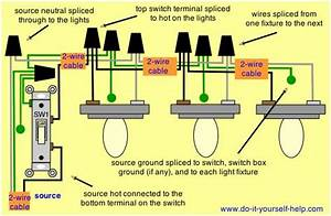 Light Fixtures In Series Wiring Diagrams