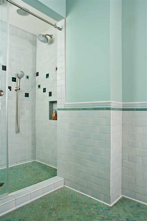 skyline mid century tile bathroom mixing historic