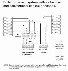 Ecobee4 Wiring Diagrams  U2013 Ecobee Support