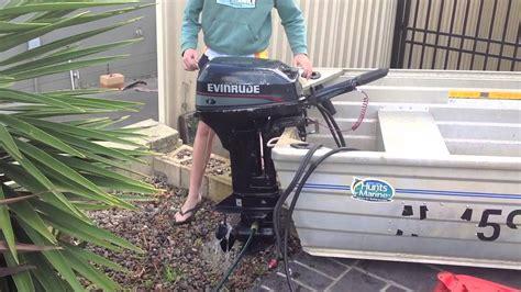 Evinrude 9.9 Hp 1996 2-stroke Outboard Motor