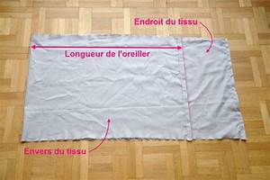 Tuto Couture Taie D Oreiller