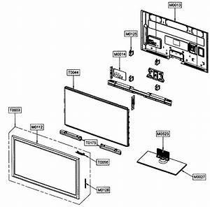 Samsung Pn42c450b1dxza Plasma Television Parts