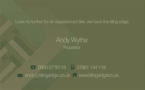 tiler business cards