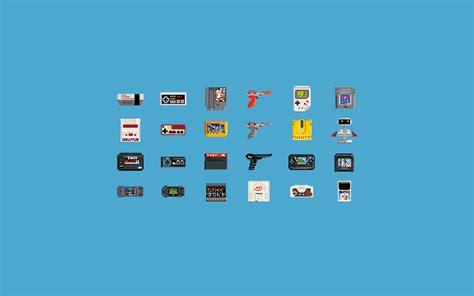Video Games Consoles Pixel Art 8 Bit Nintendo