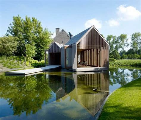 pictures small lake house designs architecture amazing modern lake house with green
