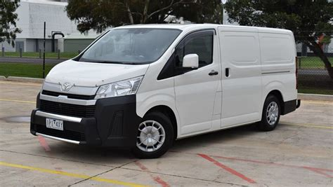toyota hiace  review lwb  auto carsguide