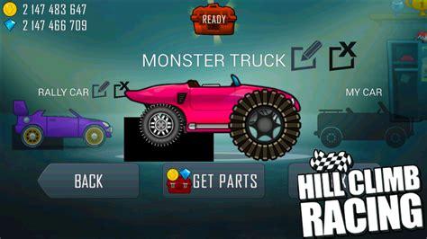 hill climb racing monster truck hill climb racing garage monster truck update create your