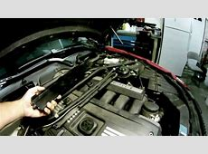 BMW 2008 328I Valve Cover Gasket YouTube