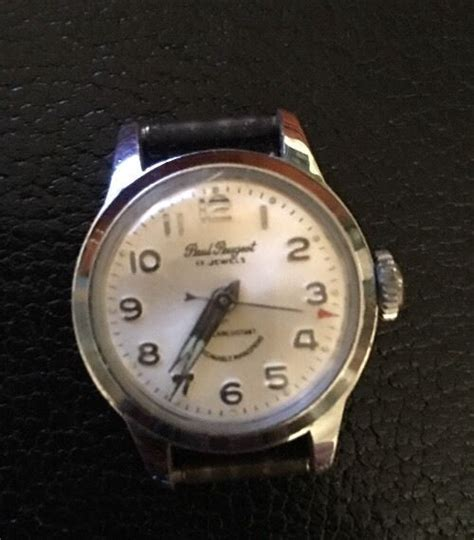 Vintage Peugeot Watches by Vintage Paul Peugeot 17jewels Sweep Second Working