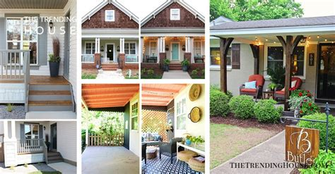 25 Stylish Front Porch Makeover Ideas That Encourage