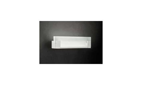 Illuminazione Applique by Braga Illuminazione Applique Visor Led In Metallo E Vetro