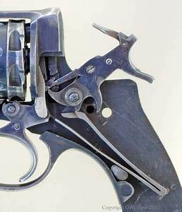 View Of The Trigger Mechanism 1923 Test Revolver Cocked