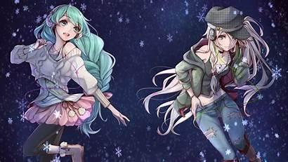 Vocaloid Miku Anime Ia Hatsune Desktop Wallpapers