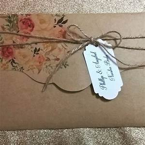 sobres de papel kraft para regalo