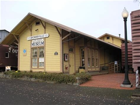 Southern Pacific Railroad Depot  Brownsville, Oregon