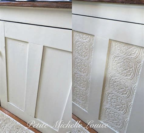 Cabinet Doors Facelift by Louise Diy Cabinet Door Facelift