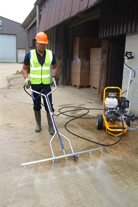 spinaclean tidal wave 46 quot water broom complete asssembly jet external clean