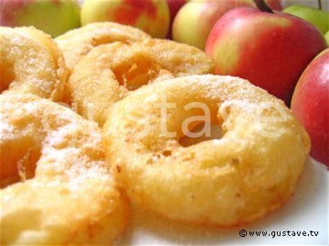 recette de pate a beignet au pomme beignets aux pommes et 224 la cannelle la recette gustave