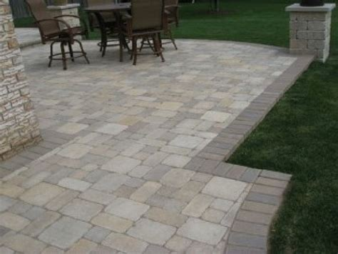 brick paver patio ideas 5 brick paver patio design