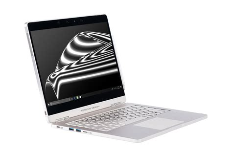 porsche design notebook porsche design s new laptop is like a surface book that can rotate 360 degrees the verge
