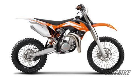motocross bike models dirt bike magazine first look ktm s 2016 sx models