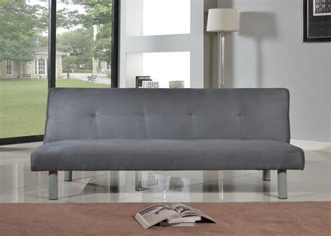 click clack bed settee faux suede canterbury fabric sofa bed 3 seater click