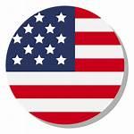 Flag Circle Usa Icon Language Transparent Svg