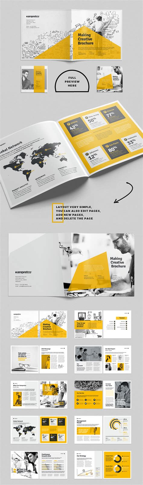 Brochure Templates Pages by New Catalog Brochure Design Templates Design Graphic