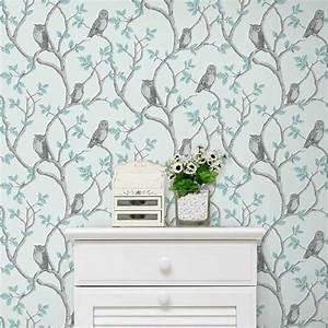 papier peint chambre bleu gris ralisscom With couleur avec bleu marine 16 blog papiers peints de marques inspiration decoration