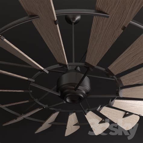 windmill fan with light 3d models ceiling light horchow windmill 72 ceiling fan