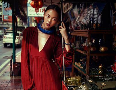 heading southeast fashion editorial  behance