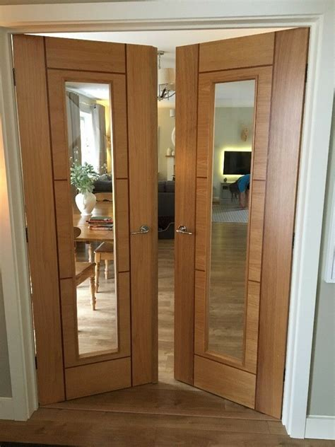 set  internal magnet kinver hardwood glazed french