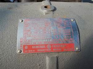Antique 3 Hp 3 Phase  U0026quot Cont U0026quot  Compressor Motor