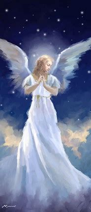 angel fine art print   macneil studio