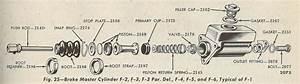1951 Ford Master Cylinder Diagram