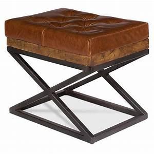 Sarreid, Leather, Indoor, Bench